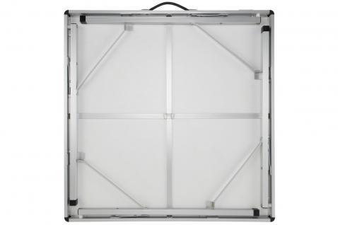 Campingtisch quadratisch 80 x 80 cm antimikrobiell - Vorschau 3
