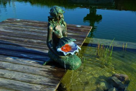 Ubbink Oslo - Wasserspiel Meerjungfrau mit LED - Vorschau 2