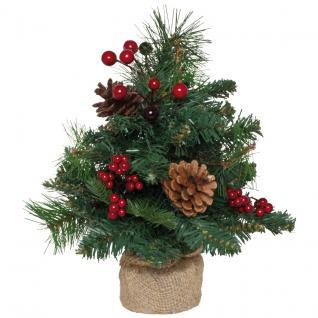 Weihnachtsbäumchen 30 cm mit Tannenzapfen - Vorschau