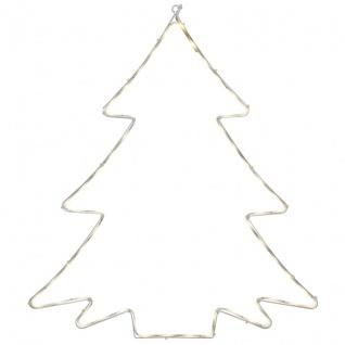 Best Season LED-Silouette LUMIWALL Tannenbaum 60 warmweiße LEDs