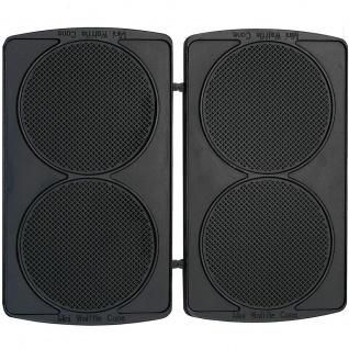 Syntrox Mini Waffle Cone Platten Waffelkegelplatten für Chef Maker SM-1300W