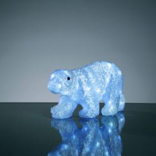 Hellum LED-Eisbär 32 BS weiß außen