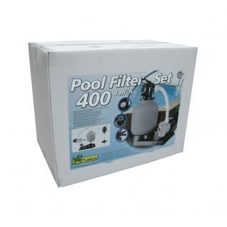 Pool Sandfilterset 400-4, 0 m³, Sandfilter mit Pumpe TP35 - Vorschau 2