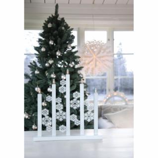LED-Weihnachtsleuchter, SNOWFALL, 5 LEDs