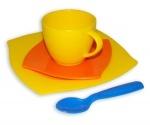 Wader Kaffegedeck 4-teilig im Netz