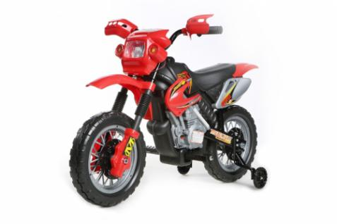 Kinder Elektrofahrzeug Mini Motocross - 6V, Motorrad, rot
