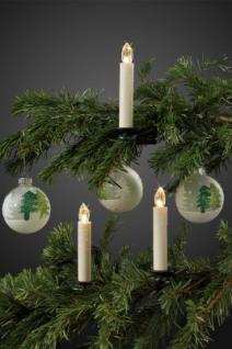 LED-Weihnachtsbaumkerzen kabellos BASIS-SET 10 BS ww innen