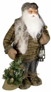 Weihnachtsmann Santaclaus Nikolaus FREDRIK 80 cm