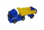 VOLVO Truck mit Sattelschlepper