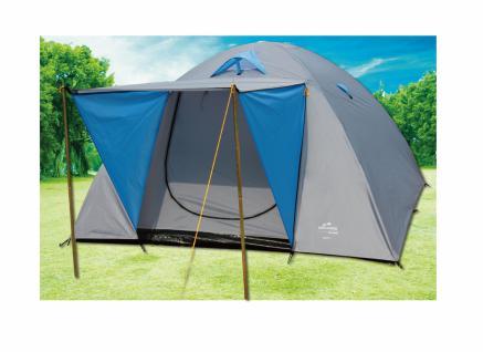 Doppeldach-Kuppelzelt Zelt Camping IGLU 3, für 4 Personen, 240 x 210 cm - Vorschau 3