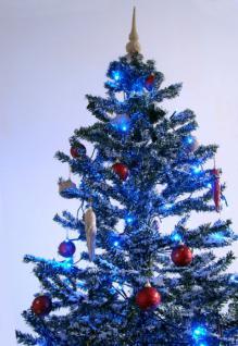 Weihnachtsbaum mit Schneefall Schnee LED Licht Musik 2 m GRÜN - Vorschau 4