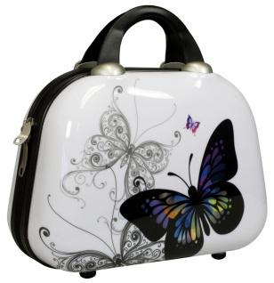 Beautycase Butterfly Schmetterling Polycarbonat Hartschale