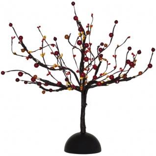 LED-Deko-Baum mit Früchten 16 BS warmweiß innen