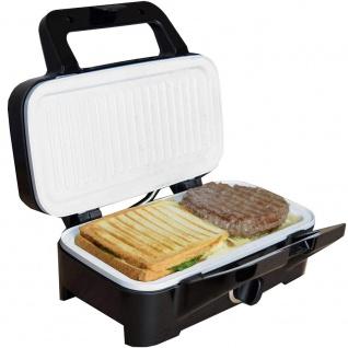 Syntrox Chef Maker 3 in 1 Sandwichmaker Waffelmaker Kontaktgrill mit Keramikbeschicht - Vorschau 4