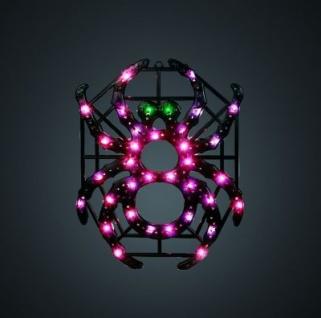 Hellum Fenster-Profil-Licht Motiv Spinne