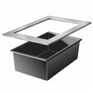 Ubbink Quadra InoxFrame - Edelstahlramen zur Kombination mit dem Becken Quadra C3