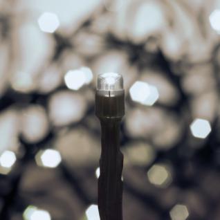 LED-Minilichterkette, 240 weiße LEDs,