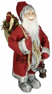 Weihnachtsmann Santaclaus Nikolaus WILLY 60 cm