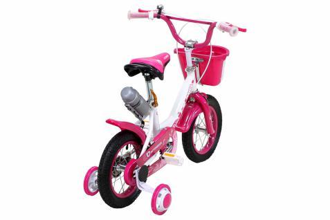 Kinder Fahrrad Daisy 12 Zoll Pink, Mädchenfahrrad - Vorschau 3