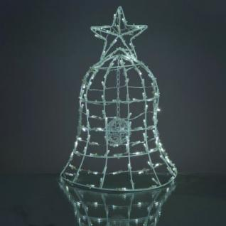 LED-Weihnachtsglocke 130 BS weiss aussen