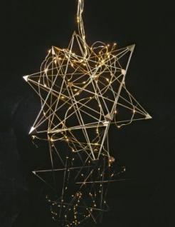 3D-Metallstern zum Zusammenstecken 100 BS