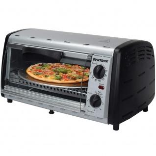 Syntrox 12 L Mini Backofen mit Pizzarost