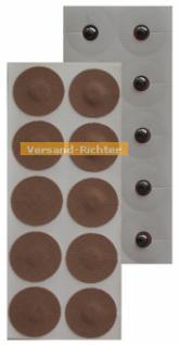 Magnetpflaster Magnet Pflaster 700 Gauss (10 Stück) vergoldet, nickelfrei