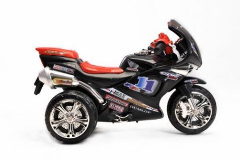 Kinder Elektrofahrzeug Motorrad Sport Schwarz - 6V - Vorschau 4