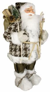 Weihnachtsmann Santaclaus Nikolaus JUHO 60 cm