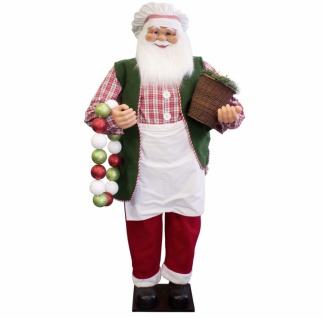 Weihnachtsmann Santa Koch 150 cm