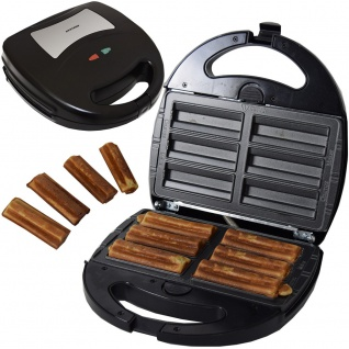 Syntrox Germany Krapfenmaker Churros Maker Chef Maker SM-1300W Churros herausnehmbare Backplatten - Vorschau 1