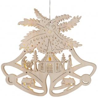 LED-Fensterbild Glocke