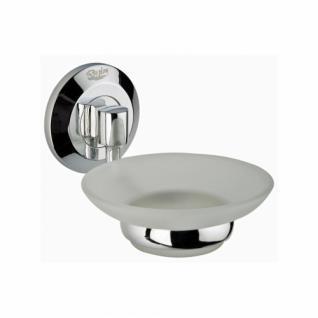 Design Seifenschale mit Glaseinsatz - Serie Rimini