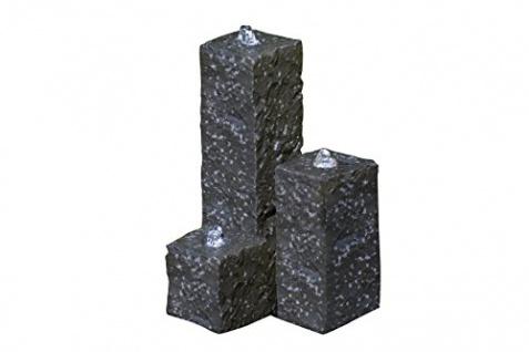 Ubbink Taranto, 3 Granitsäulen
