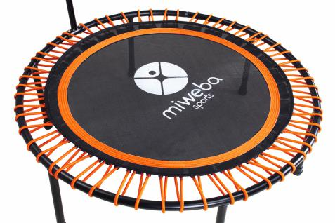 Miweba JUMPNESS Fitness Trampolin Round 40`orange inklusive Pad - Vorschau 4