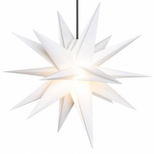 Weihnachtsstern, weiß, Ø 50 cm