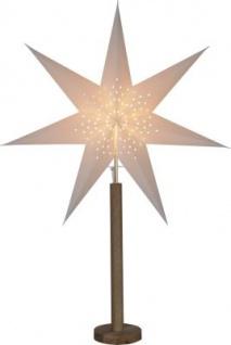 STAR Trading Papierstern ''Elice'' 60cm creme/eiche innen EEK:A++-E