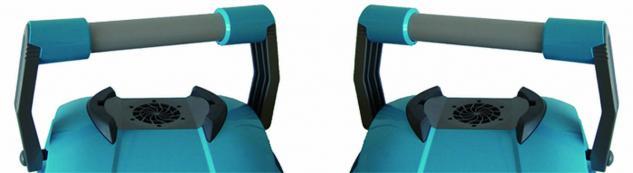 Robotclean 5 automatischer Schwimmbeckenreiniger Boden, Wände und Wasserstandsrand - Vorschau 5
