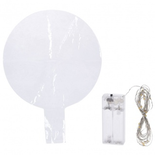 Deko-Ballon, 30 warmweiße LEDs, zum Ballon zum Befüllen