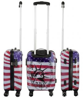 Kofferset Trolleyset Reisekoffer Hartschale 3tlg. NEW YORK II - Vorschau 3