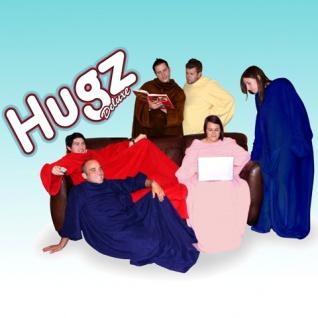 Hugz Deluxe Kuscheldecke Decke Wolldecke mit Ärmeln