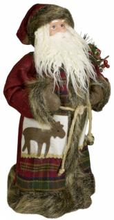 Weihnachtsmann Santaclaus Nikolaus MIRO 45 cm