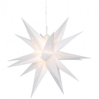 Mark Slöjd Weihnachtsstern 12 ww LEDs VECTRA 3D für außen 60 cm