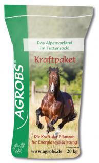 Agrobs Kraftpaket, 20 kg, für Pferde mit hohem Energiebedarf