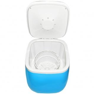 Syntrox 2, 0 Kg Waschmaschine Miniwaschmaschine mit Timer und Schleuder 150 W blau - Vorschau 3