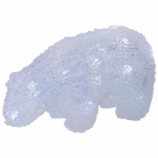 Acryl-LED-Eisbär ICE BEAR BABY, LEDs, L 200, H 110, B 80