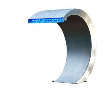 Mamba mit LED - Design Wasserfall aus Edelstahl