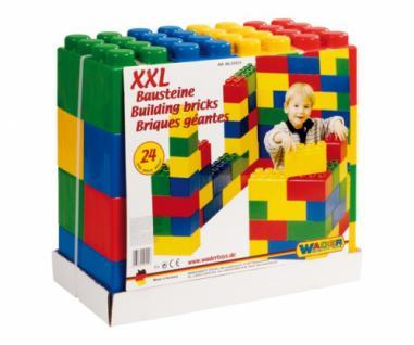 XXL Bausteine, Baustein-Set MEGA, bunt, 24 Teile - Vorschau 2