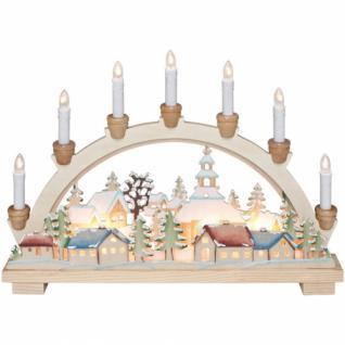 Weihnachtsleuchter, Weihnachtsdorf Schwibbogen
