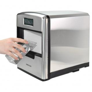 Syntrox Digitaler Edelstahl Eiswürfelbereiter mit LCD Display - Vorschau 4